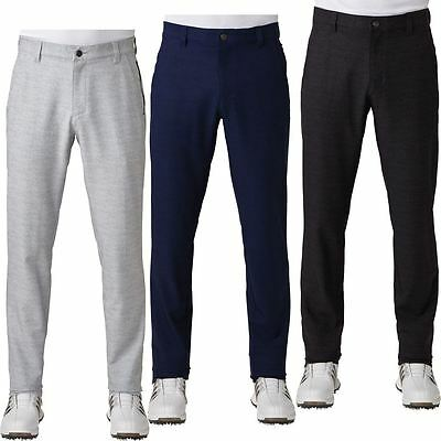 Adidas 2017 Ultimate 365 Prime Heather Tapered Pants Mens Golf Stretch Trousers