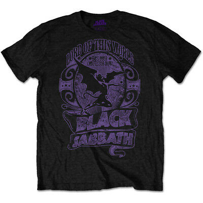 Black Sabbath 'Lord Of This World' T-Shirt - NEW & OFFICIAL!