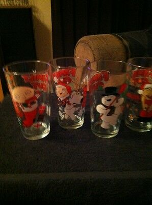 Family Guy Pint Glass Set Stewie 4 Pack Glasses Christmas Holiday