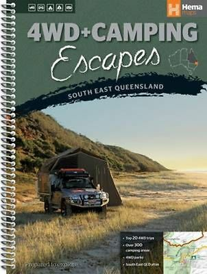 Queensland South East 4wd + Camping Escapes: HEMA.A.DIS53SP Spiral Book Free Shi