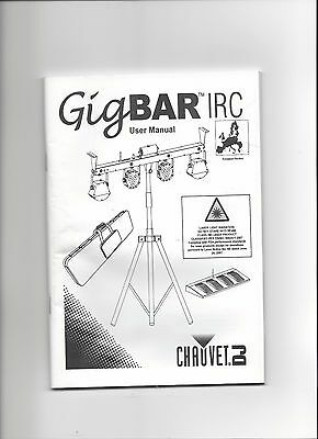 Chauvet DJ GigBAR IRC 4-in-1 Gig Bar with Remote Control