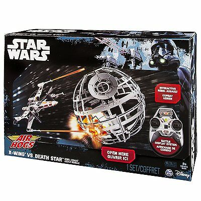 Star Wars Air Hogs X-Wing vs Death Star RC Drone NEW In BOX 2.4ghz for ages 8+