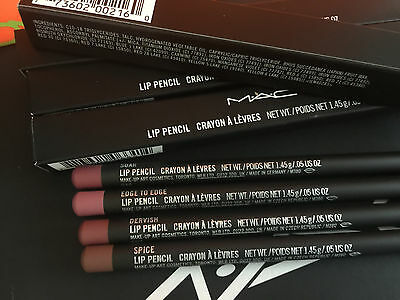 Mac Lip Liner Pencil Various Shades To Choose From 100% Genuine Brand New In Box