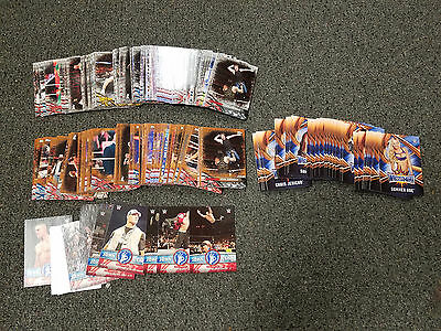 2017 Topps WWE Road to Wrestlemania MASTER SET 260 CARDS WITH BRONZE SET