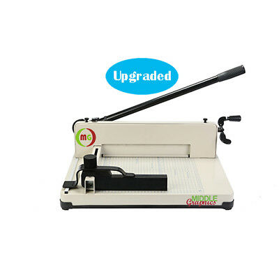 """12"""" Manual High-End Guillotine Stack Paper Cutter Trimmer up to 500 Sheet  New!"""
