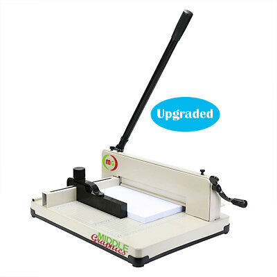 "New! 17"" Manual High-End Guillotine Stack Paper Cutter Trimmer up to 500 sheets"