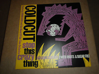 "Coldcut Featuring Junior Reid - Stop This Crazy Thing - version [12"" Single]"
