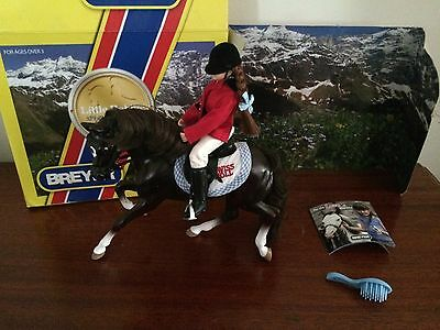 Breyer Horse Special Edition Little Debbie Swiss Roll Pony & Rider Playset w/box