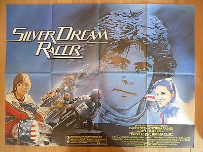 SILVER DREAM RACER (1980) - original UK quad film/movie poster,motorcycle racing