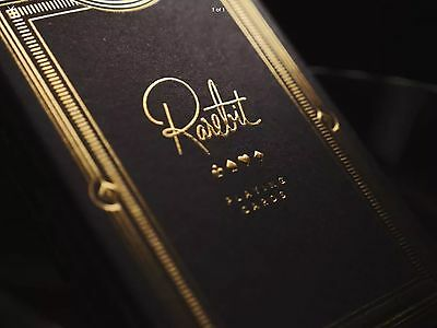Rarebit Gold Playing Cards - New, Sealed