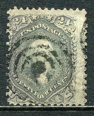 US Lot 2085 US Postage 1862 Scott A29 78a Gray Lilac -violet 70c maybe - no gril