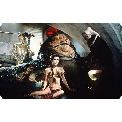Princess Leia - Slave Outfit (Star Wars) Carrie Fisher Fridge Magnet
