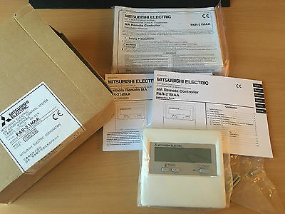 Mitsubishi Electric PAR-21MAA hard wired controller A/c Remote controller PAR 21