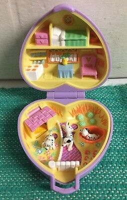 Vintage 1993 Polly Pocket , Dalmations? - By Bluebird Toys