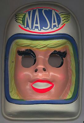 1970 Female NASA Astronaut Halloween Mask