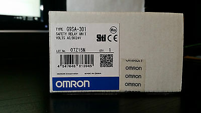 New In Box Omron G9Sa-301 Safety Relay