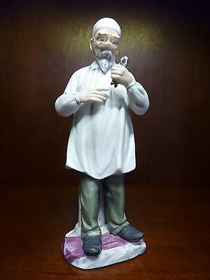 Vintage Andrea by Sadek Japan Porcelain Bisque Dentist Figurine Figure No. 7116