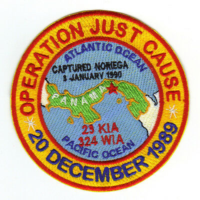 Operation Just Cause Patch, 20 Dec 1989                                        Y