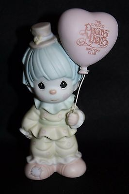 "Precious Moments Figurine Clown ""Happiness Is Belonging"" 1993"
