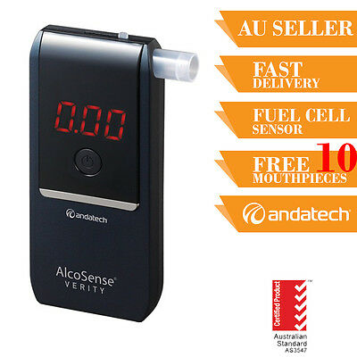 Andatech Alcosense Verity Personal Breathalyser Alcohol Tester Beath Test