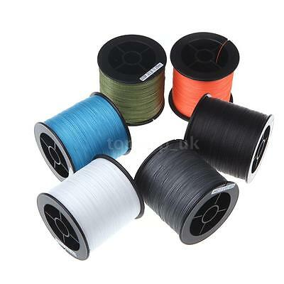 500M 30LB 0.26mm Fishing Line Strong PE Braided 4 Strands Monofilament L8Q5