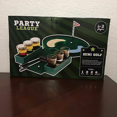 Golf Shots Drinking Game Party League