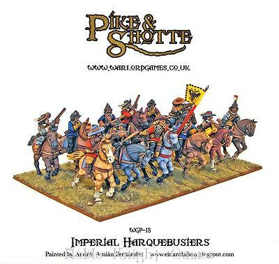 Warlord Pike & Shotte 28mm Imperial Harquebusiers Box MINT