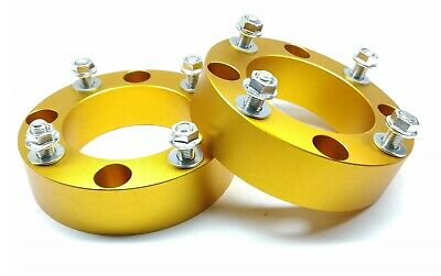 Front Coil Strut Spacers -35mm gives 50mm lift for Toyota Landcruiser 200 series