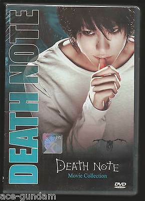 DVD DEATH NOTE + Last Name + Change the World Movie 3 in 1 Boxset English Dub
