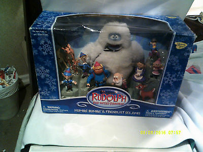 Rudolph the Red-Nosed Reindeer - Humble Bumble & Friends - 12 Figures - NEW