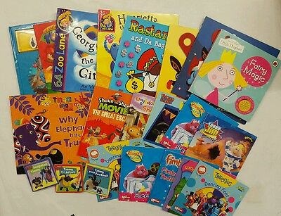 cbeebies 21 book bundle tweenies tinga tinga tales shaun sheep timmy time lunar