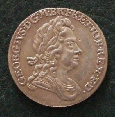 1717 George I Sixpence Copy.  (FREE UK POSTAGE AVAILABLE)