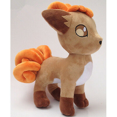 30CM 12'' Anime Pokemon VULPIX Soft Plush Doll Stuffed Kids Toy Gift UK