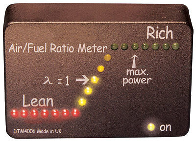 LED Air/Fuel Ratio Meter, Lambda Gauge