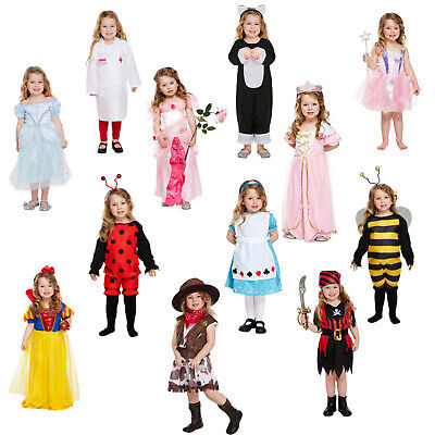 World Book Day Week Girls Toddler Fancy Dress Costume Outfit Dressing Up Party