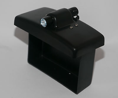 viper bait boat battery lid with Torch for MK3, Icon, Legacy
