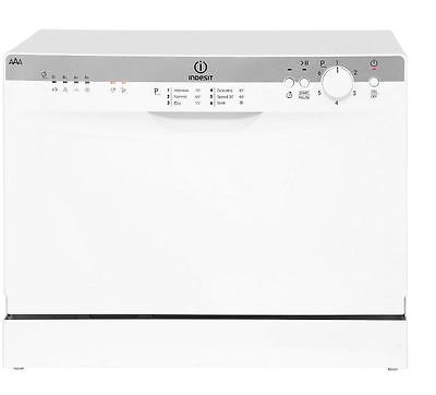 Indesit ICD661 Compact Table-Top A Energy Rated Dishwasher In White Brand NEW