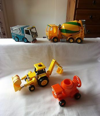 Bob the Builder 4X Friction Powered Vehicles.