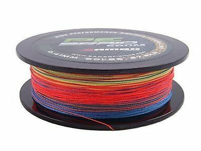 SAMBO 100% PE Dyneema Braid Spectra Fishing Line 300m 20lbs Fluro Multi Colour