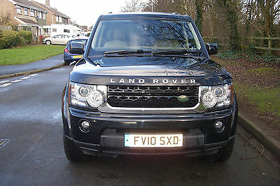 2010 Land Rover Discovery 4 Hse Tdv6 Auto Black