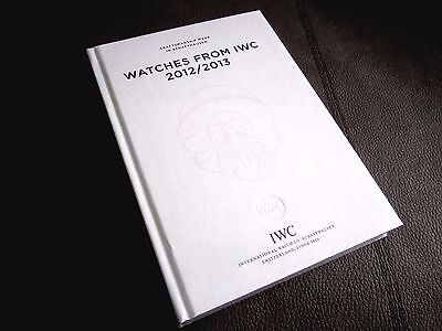 IWC watch 2012 /2013 CATALOGUE BOOK BROCHURE. Still Sealed!