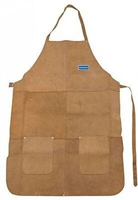 Silverline Chrome Leather Welders Apron  Welding 633505