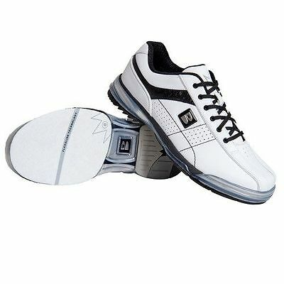 Brunswick TPU X WHITE/BLACK Mens Right Handed Interchangeable Bowling Shoes