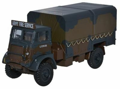 Oxford Diecast Model - Army Fire Service Bedford QLD Truck - 1:76 Scale 76QLD001