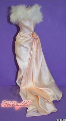 Vintage Barbie Reproduction 50th Anniversary ENCHANTED EVENING Gown & Fur REPRO