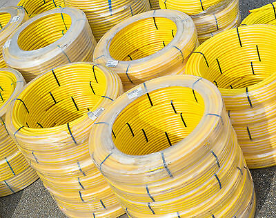 MDPE Yellow Service Gas Pipe - Coils