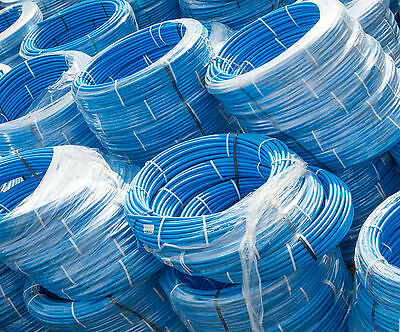 MDPE Blue Service Water Pipe - Coils