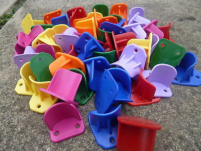 dog agility jump cups 28 prs mixed colours Training Obedience with free screws