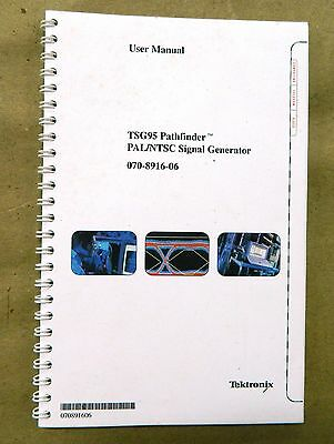 Tektronix TSG95 Manual