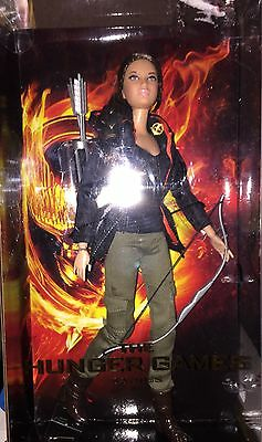 The Hunger Games Katniss barbie doll  2012 with arrow Mattel